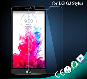 Japanese Material Tempered Glass Screen Protector for LG G3 Stylus
