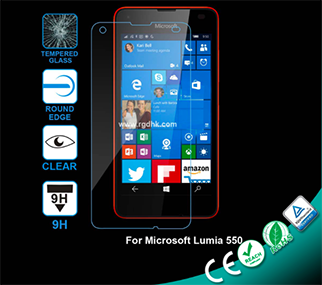 2.5D Glass Screen Protector for Microsoft Lumia 550