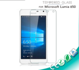 Clear Tempered Glass Screen Protector for Microsoft Lumia 650